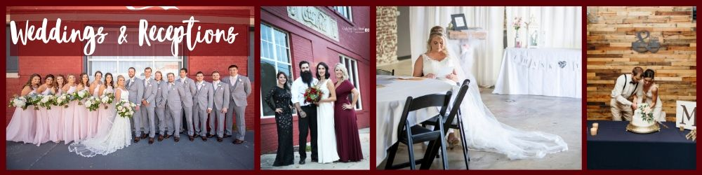 Weddings & Receptions preview